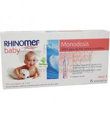 Rhinomer Baby Monodosis 20 Unidosis