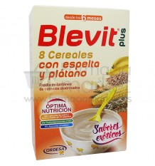 Blevit Plus 8 Cereales Espelta Platano 300 g