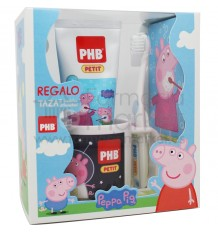 Phb Peppa Pig Pack Cepillo Gel Taza