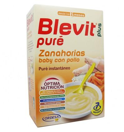 Blevit Pure Zanahorias Pollo 280 g
