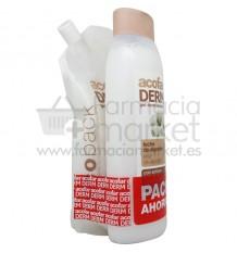 Acofarderm Gel de Baño Leche Algodon 750 ml Pack Ecopack