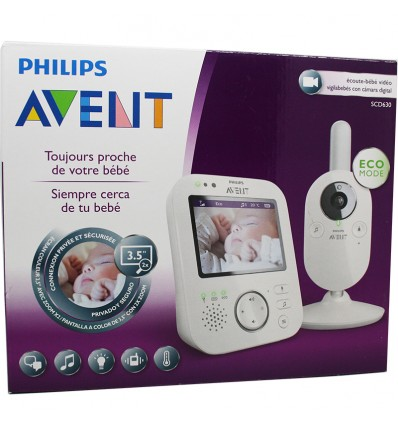 Avent Philips Video Monitor SCD630