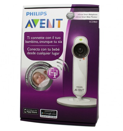 Avent Philips Vigilabebes Ugrow Smart Baby Monitor SCD860