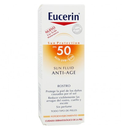 Eucerin Sun Fluid Anti Age 50 ml
