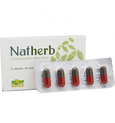 Natherb 5 capsulas