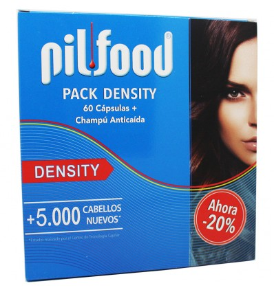 Pilfood Pack Density Capsulas + Champu