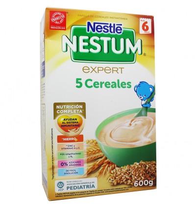 Nestum 5 cereales 600 gramos