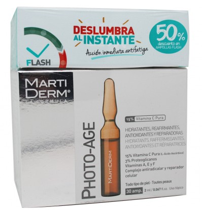 Martiderm Photo Age 30 Ampollas Pack Promocion