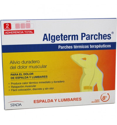 Algeterm Parches Espalda Lumbares 2 Unidades