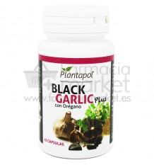 Plantapol Black Garlic Ajo Negro Plus Oregano 45 capsulas