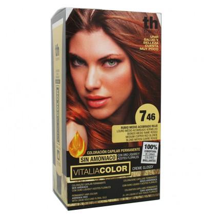 Th Pharma Vitaliacolor Tinte 746 Rubio Medio Acobrado Rojo