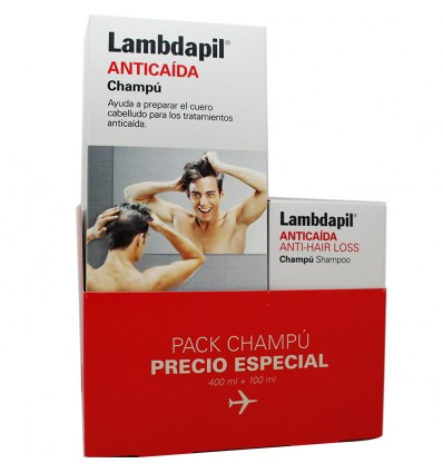 Lambdapil champu 400 ml regalo