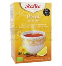Yogi Tea Detox Limon 17 Bolsitas