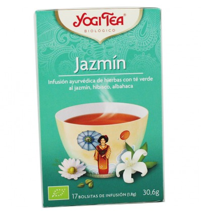 Yogi Tea Te Verde Jazmin 17 Bolsitas