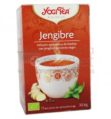 Yogi Tea Jengibre 17 Bolsitas