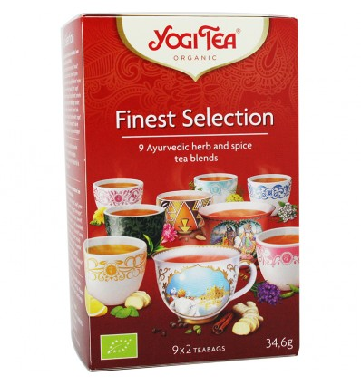 Yogi Tea Seleccion 18 Bolsitas
