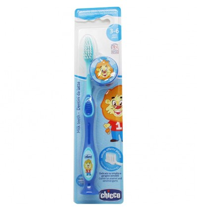 Chicco Cepillo Dientes 3-6 Azul
