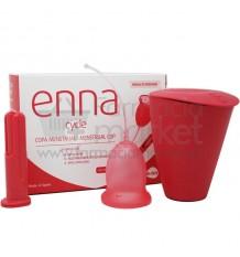 Enna Cycle Copa Menstrual M Aplicador 2 Unidades