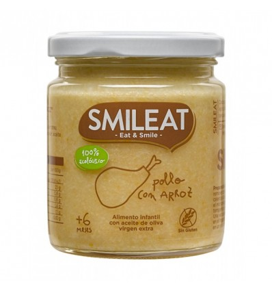 Smileat Potito Pollo Arroz 230 g