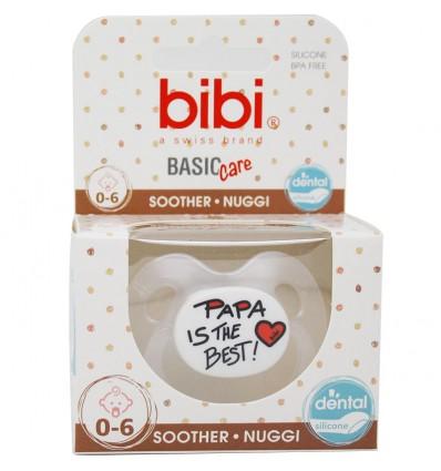 Bibi Chupete Basic Silicona Papa is The Best 0-6 meses