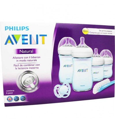 Avent Natural Set Recien Nacido Azul