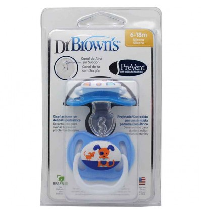 Dr Browns Chupete Prevent 6-18 meses 2 unidades