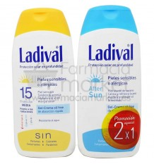 Ladival Protector solar 20 spray transparente 150 ml