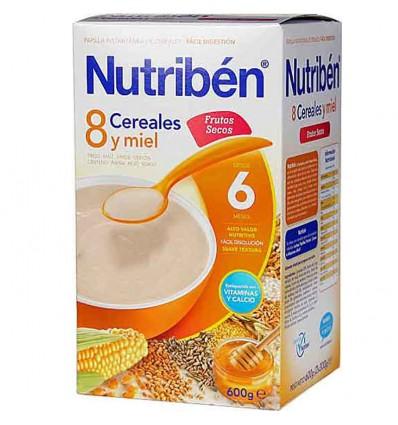 nutriben 8 cereales miel frutos secos