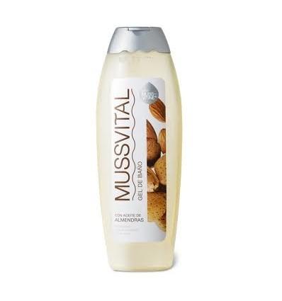 Mussvital Gel de baño  con aceite de almendras 750 ml
