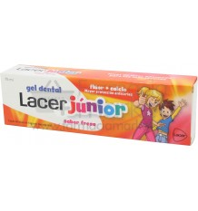Lacer Junior Gel Fresa 75 ml