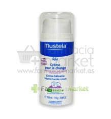 Mustela Bebe Crema Bálsamo Dosificador 100ml