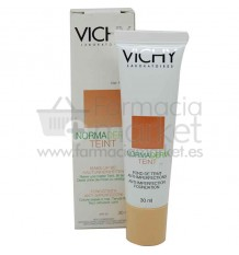 Vichy Normaderm Teint Maquillaje fluido 25 Nude Clair 30 ml
