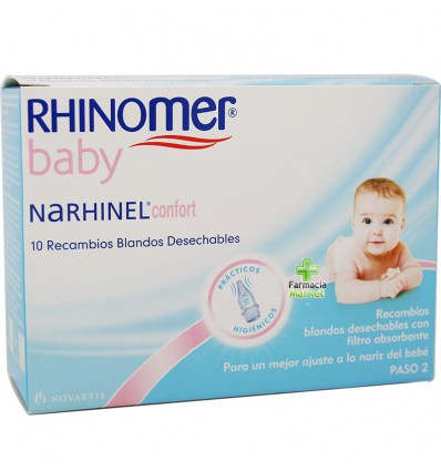Narhinel Confort Recambios 10 unidades