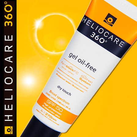 Oferta heliocare 360 oil free dry touch