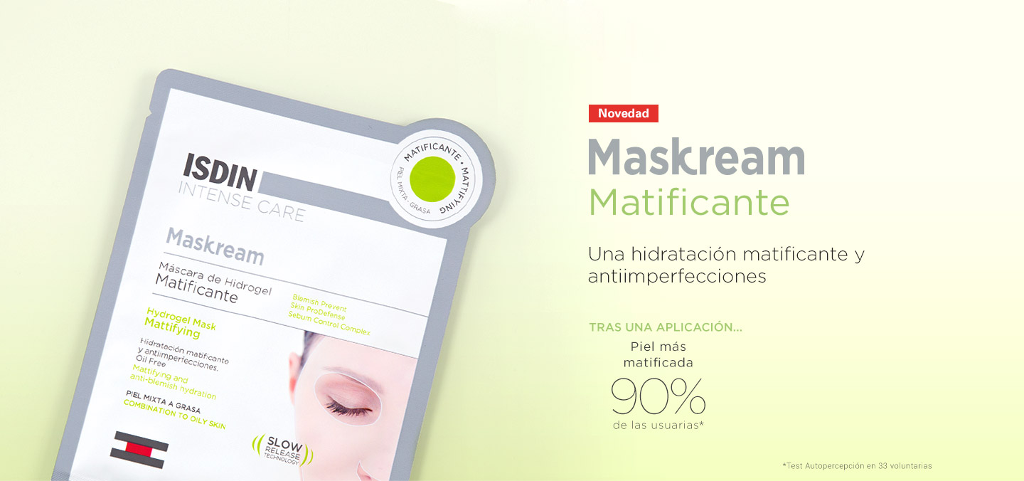 isdin maskcream matificante