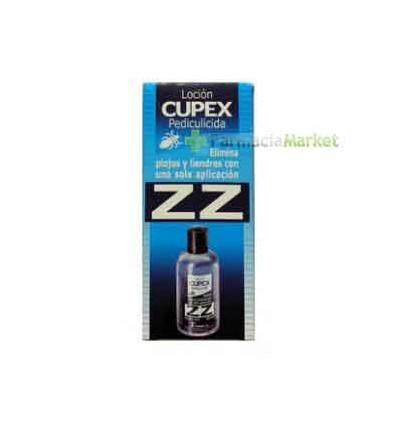 Cupex Loción pediculicida zz 100 ml.