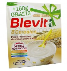 Blevit Plus Cereales Papilla 8 cereales 600 g