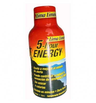 5 hours energy precio