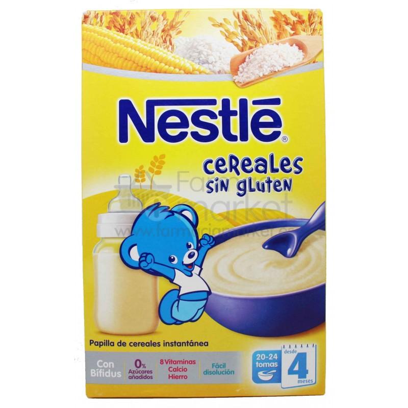 Nestle cereales sin gluten es tu primera papilla para bebes - Cereales bebe 5 meses ...