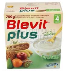 Blevit Plus Superfibra Frutas Sin gluten 600 g