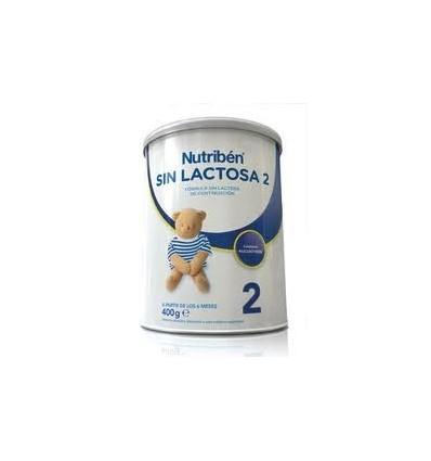 Nutriben Sin Lactosa 2 400 gramos