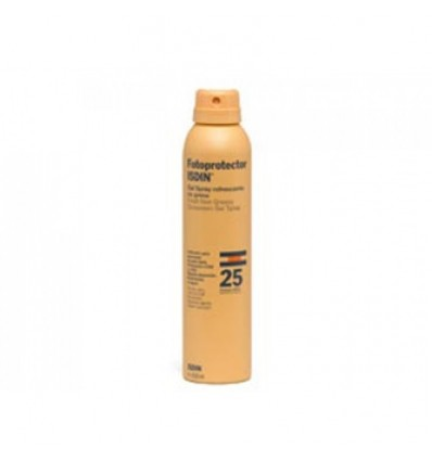Fotoprotector Isdin 25 Gel Spray Transparente 200 ml