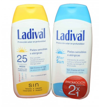 ladival protector solar 25