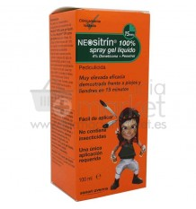 Neositrin Spray gel Liquido antipiojos 100 ml