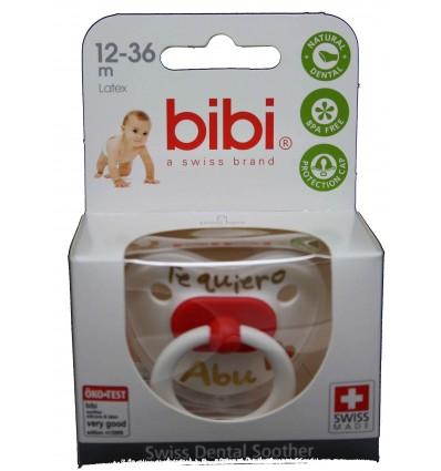 Bibi Chupete Látex Te quiero Abu 12-36 meses