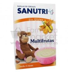 Sanutri Cereales Papilla Multifrutas Sin Gluten 300 g