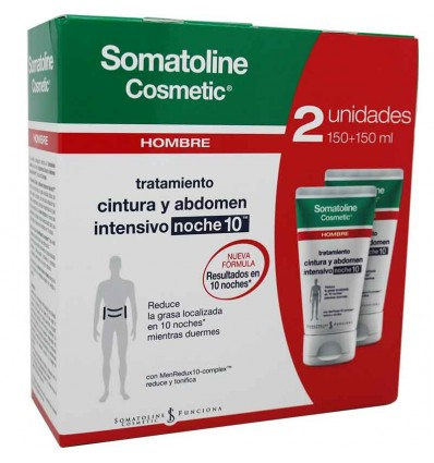 Somatoline Hombre Cintura abdomen duplo promocion