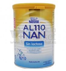 Al 110 Nan leche sin lactosa 400 g