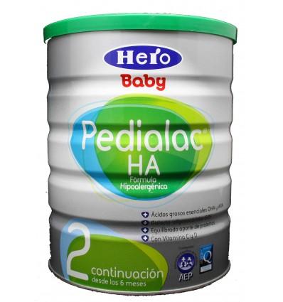 Pedialac 2 HA hero baby hipoalergénica 800g