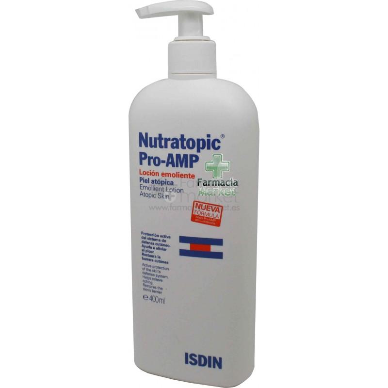 Nutratopic Pro Amp locion emoliente 400 ml   Piel Atopica
